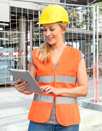 Women`s Safety Vest EN ISO 20471
